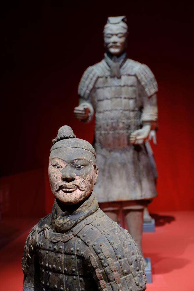 Enkele beelden zijn zeer goed bewaard gebleven en worden in het museum tentoongesteld zodat ze van dichtbij bewonderd kunnen worden.
