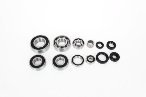 engine bottom end bearings and seals kit kawasaki klx110