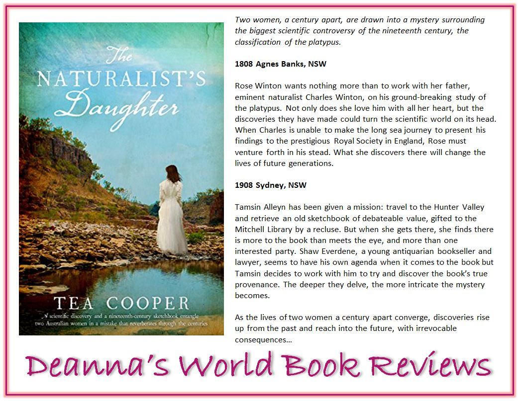The Naturalist's Daughter by Tea Cooper blurb
