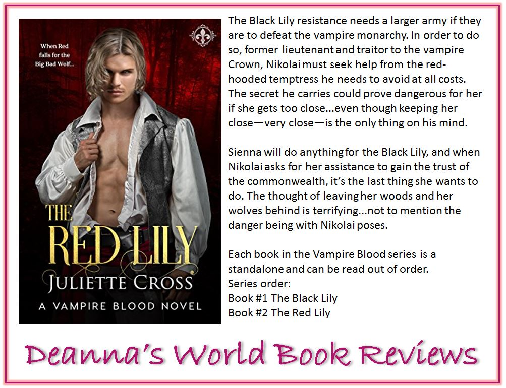 The Red Lily by Juliette Cross blurb