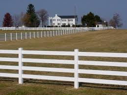ranch rail fence Image