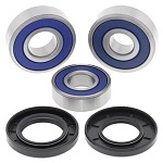 Rear Wheel Bearings Seals Kit Honda GB500 49 State Tourist Trophy 500 1989 1990