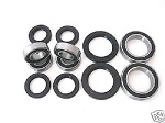 Combo-Pack! Front Wheel + Rear Axle Bearings and Seals Kit Yamaha Blaster YFS200 1988-2002
