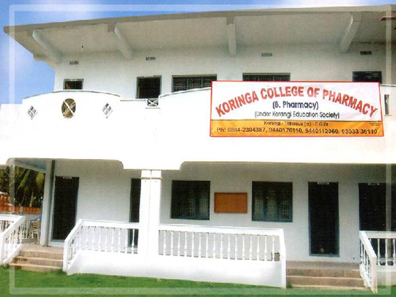 Koringa College of Pharmacy, East Godavari Dist.