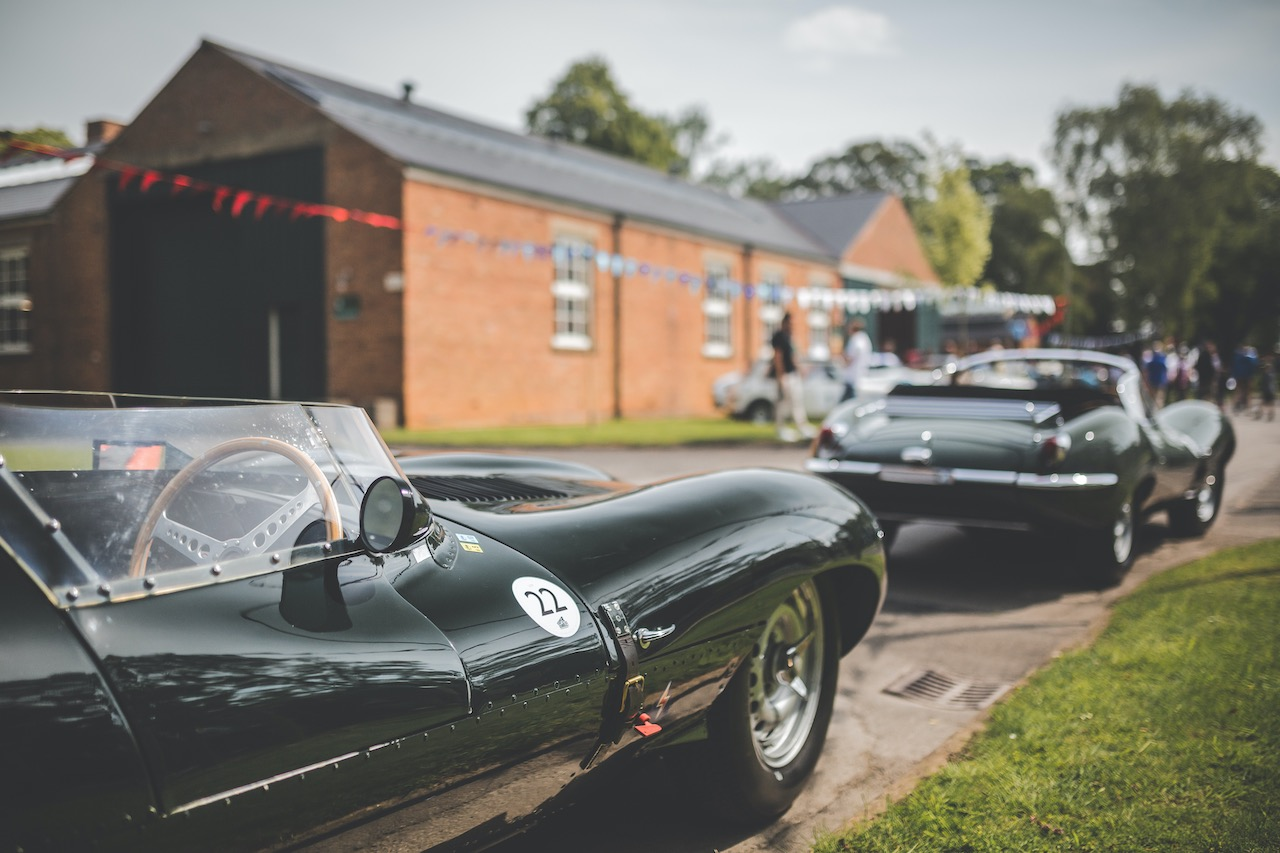 Aston Martin and Jaguar set for The Classic Car Drive In Weekend