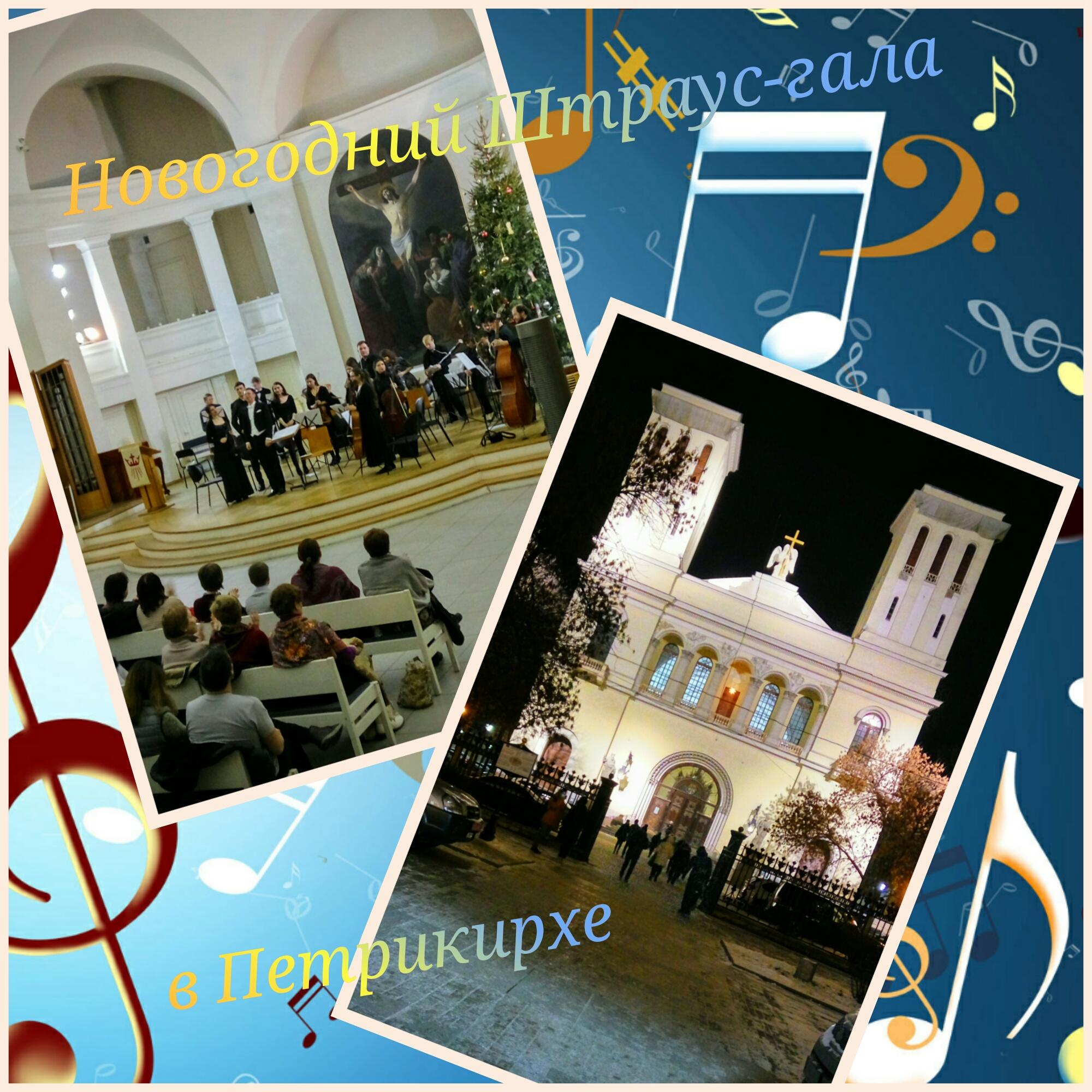 Новогодние каникулы: Штраус-гала концерт