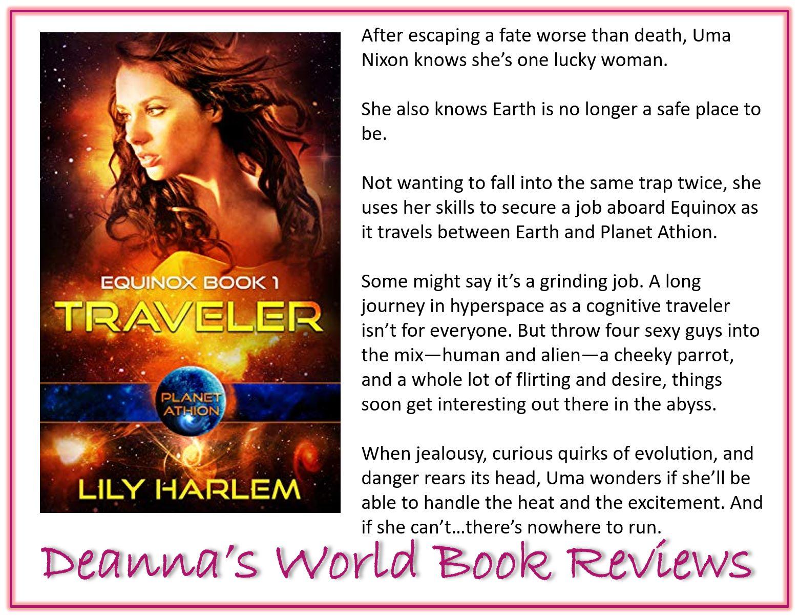 Traveler by Lily Harlem blurb