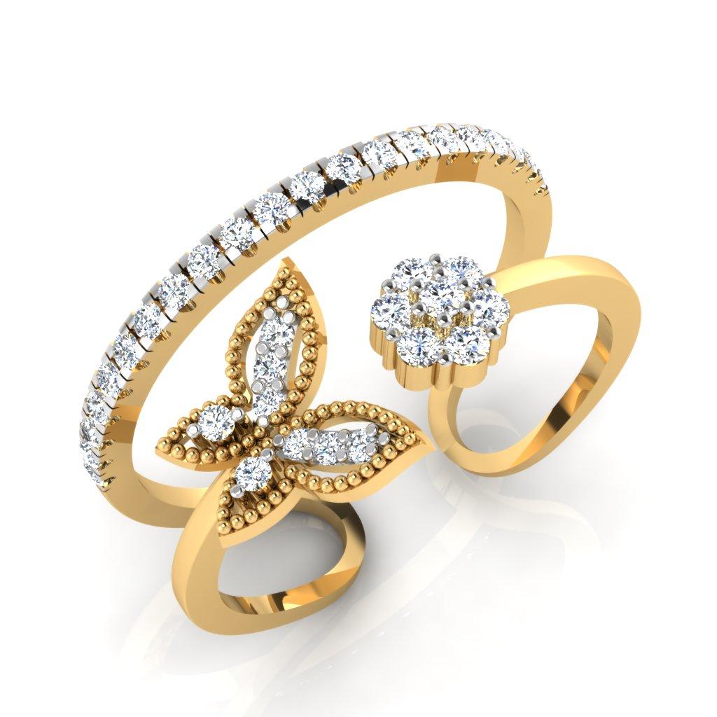 The Fusia Diamond Ring