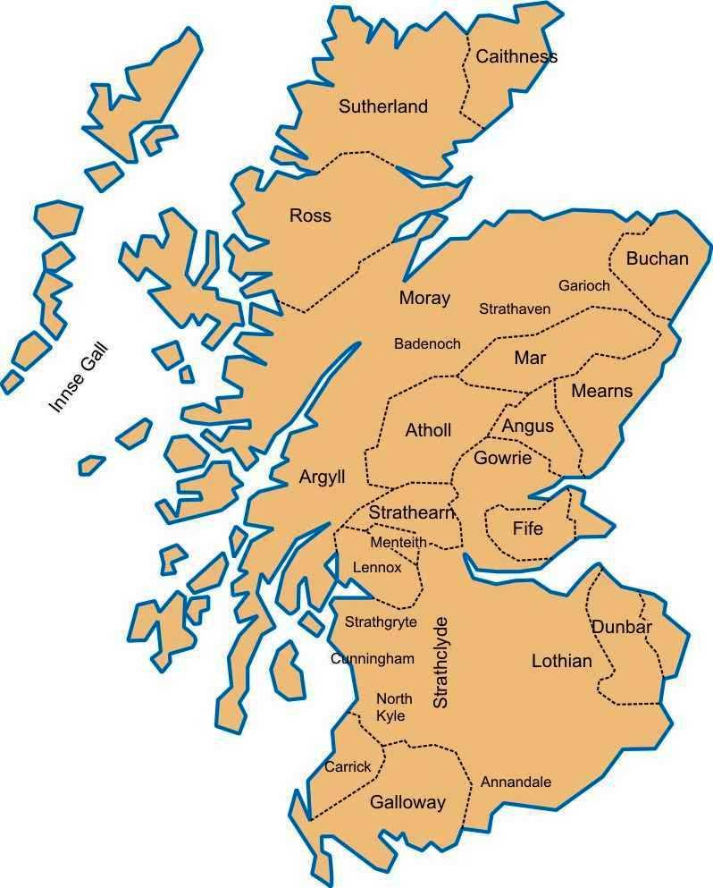 Мормаэрства кельтской Шотландии (XI - XII в.в.)
