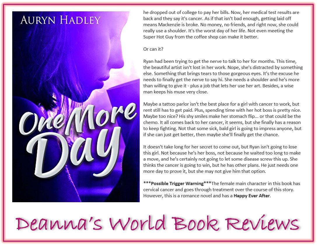 One More Day by Auryn Hadley