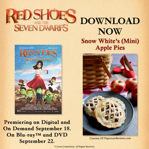 Snow White's Mini Apple Pies