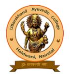 Uttarakhand Ayurvedic College Haldwani, Nainital