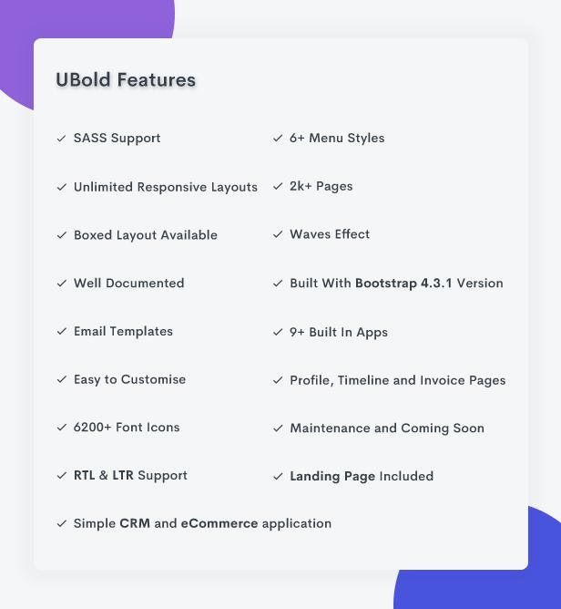 Ubold - Responsive Admin Dashboard & Web UI Kit Template - 4