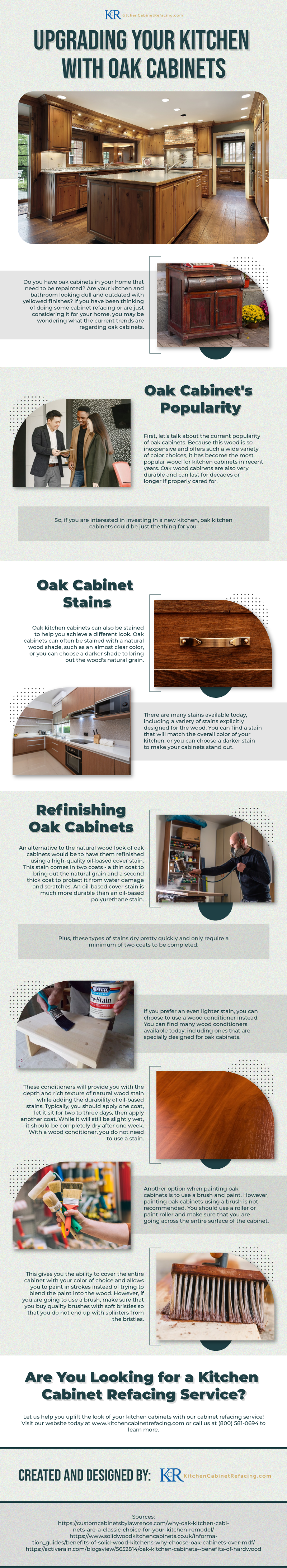 Upgrading Your Kitchen with Oak Cabinets