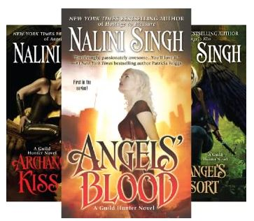 Guild Hunter series by Nalini Singh