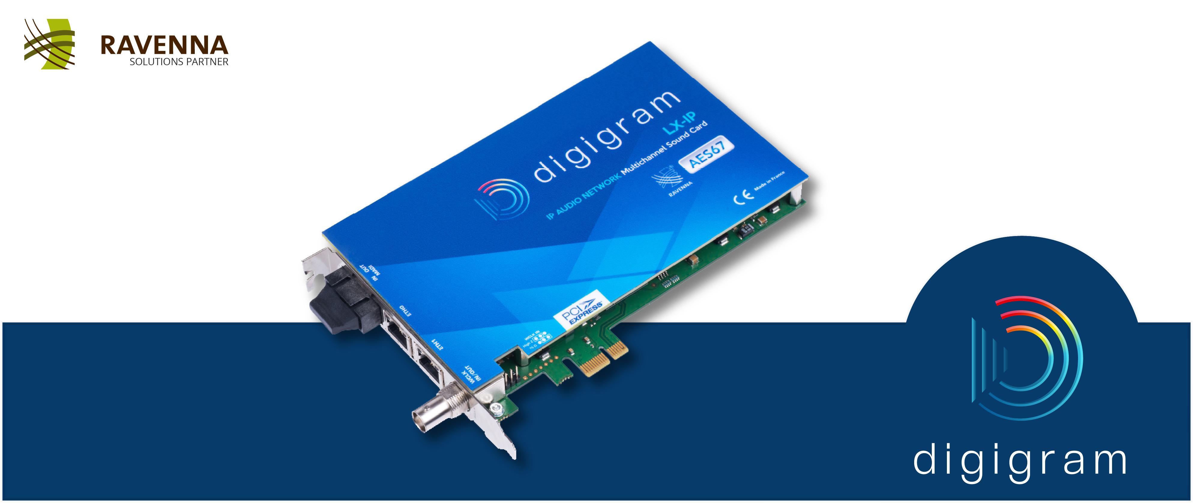 Digigram RAVENNA Solutions
