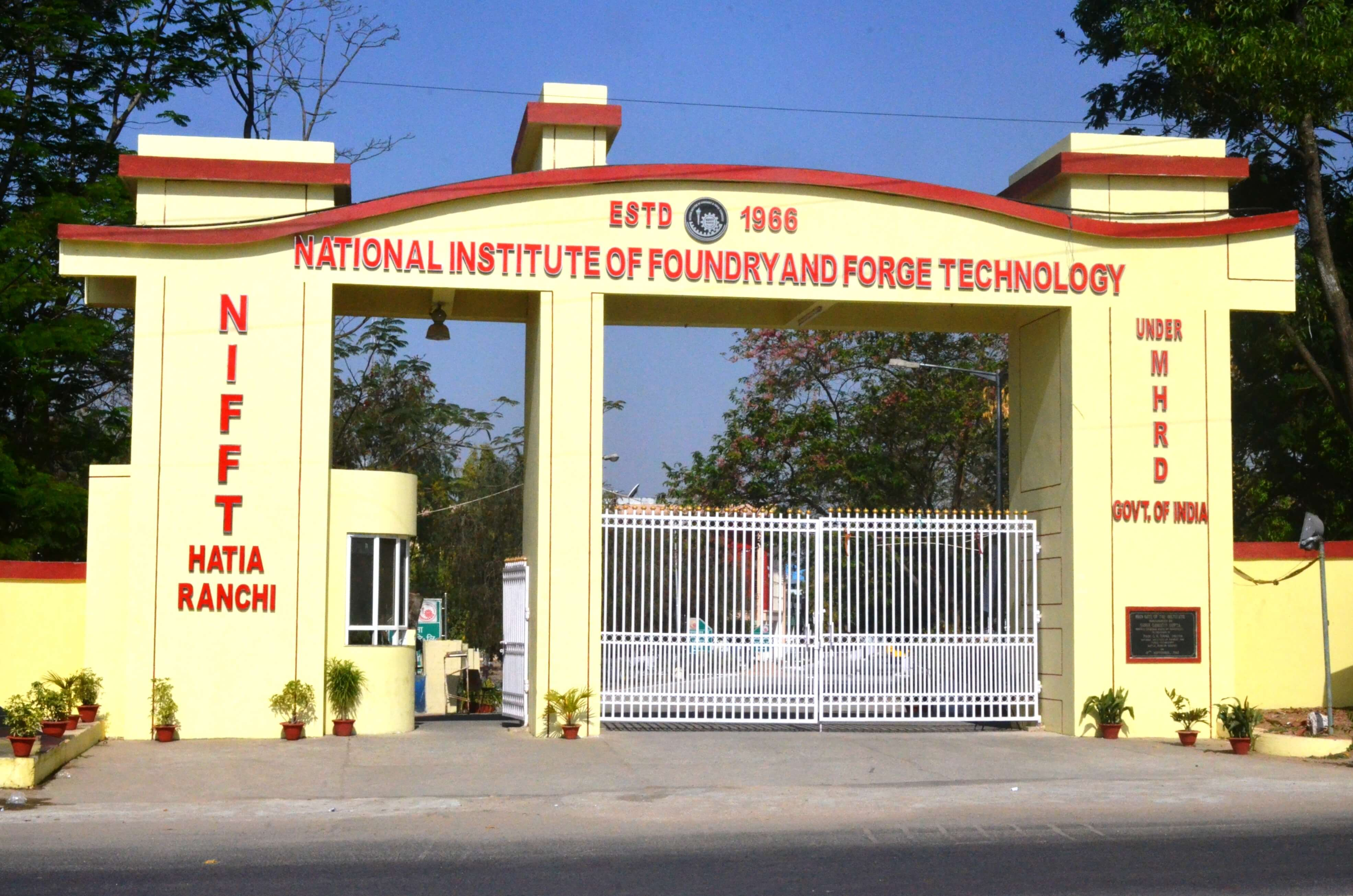 National Institute of Foundry and Forge Technology, Ranchi Image
