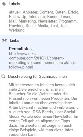 Für die bessere Indexierung in Google + Co. sind zusätzliche Infos, sog. Meta Tags, sehr wichtig.