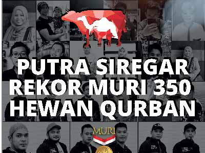 Rekor MURI 350 Hewan Qurban