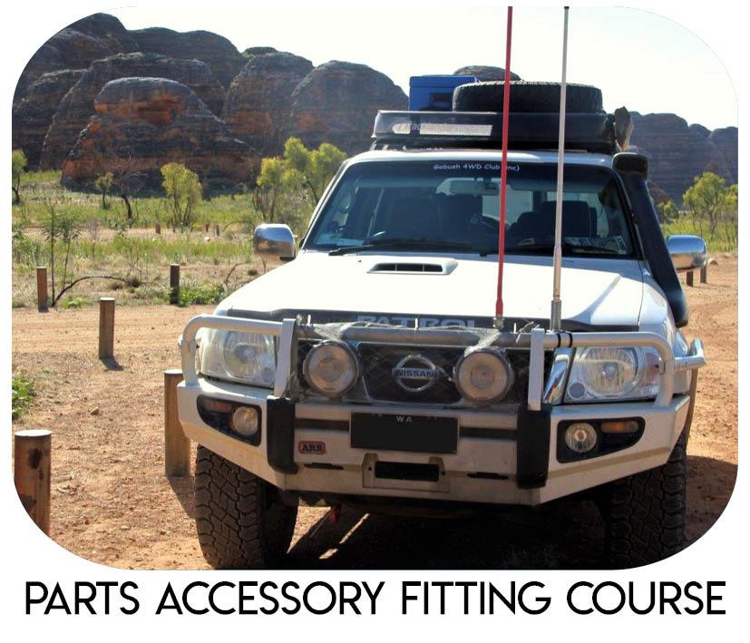 Parts Accessory Course