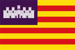Bandera de Islas Baleares