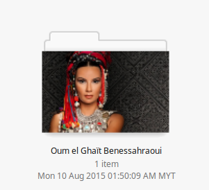 Oum el Ghaït photo folder