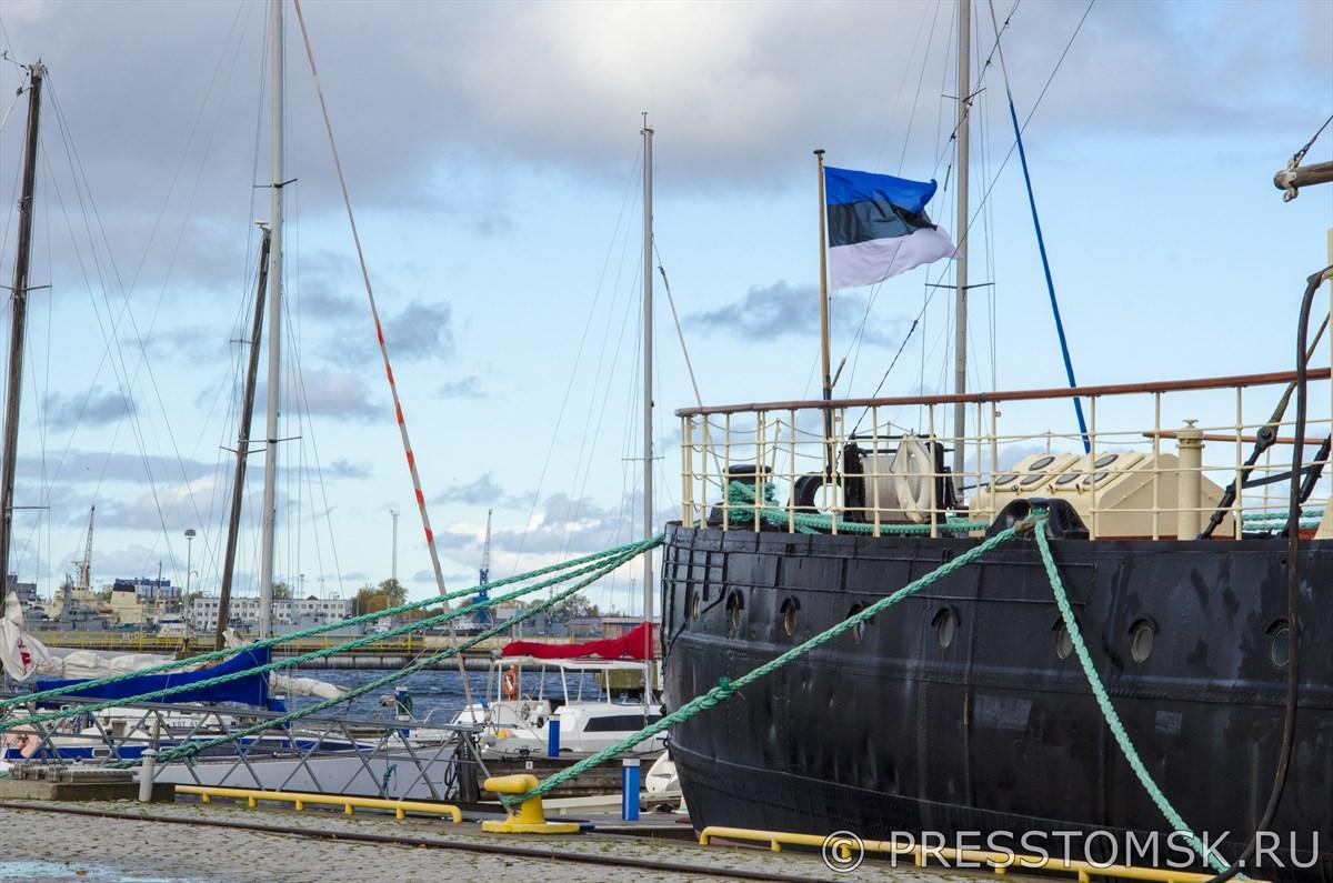 В порту музея Летная гавань