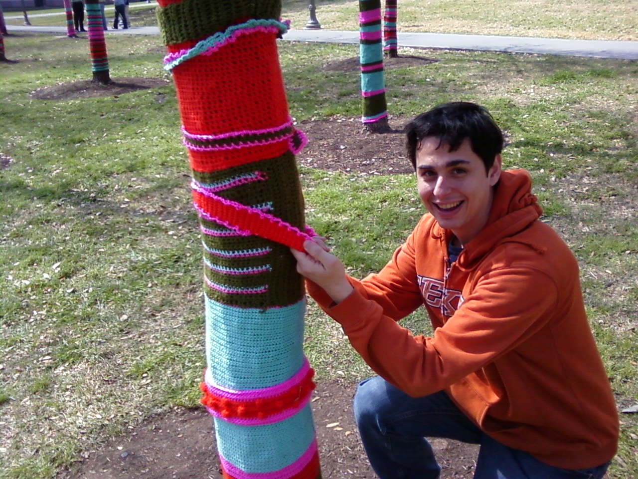 Luis and the yarn trees