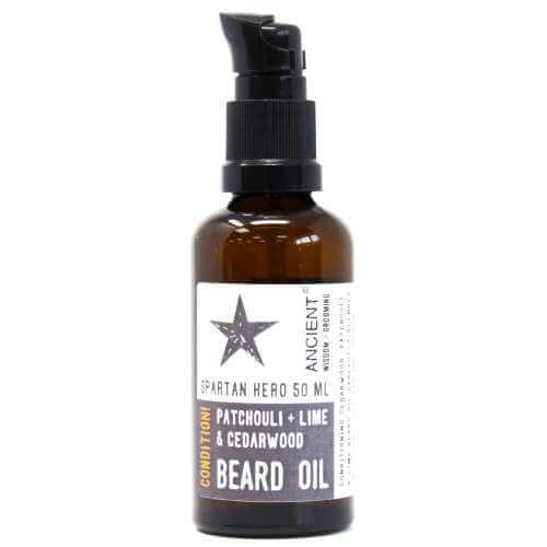 beard oil 50ml - patchouli, lime & cedarwood