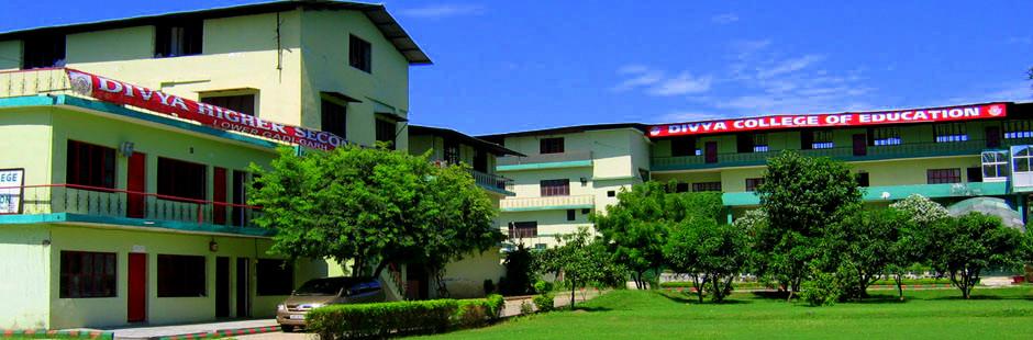 Divya College of Education, Jammu