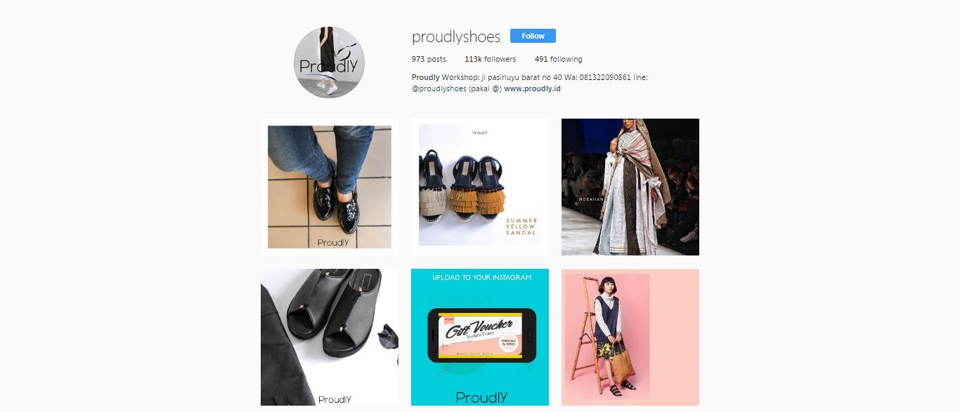 instagram proudlyshoes