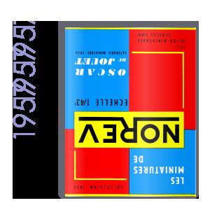 Catalogue Norev 1957