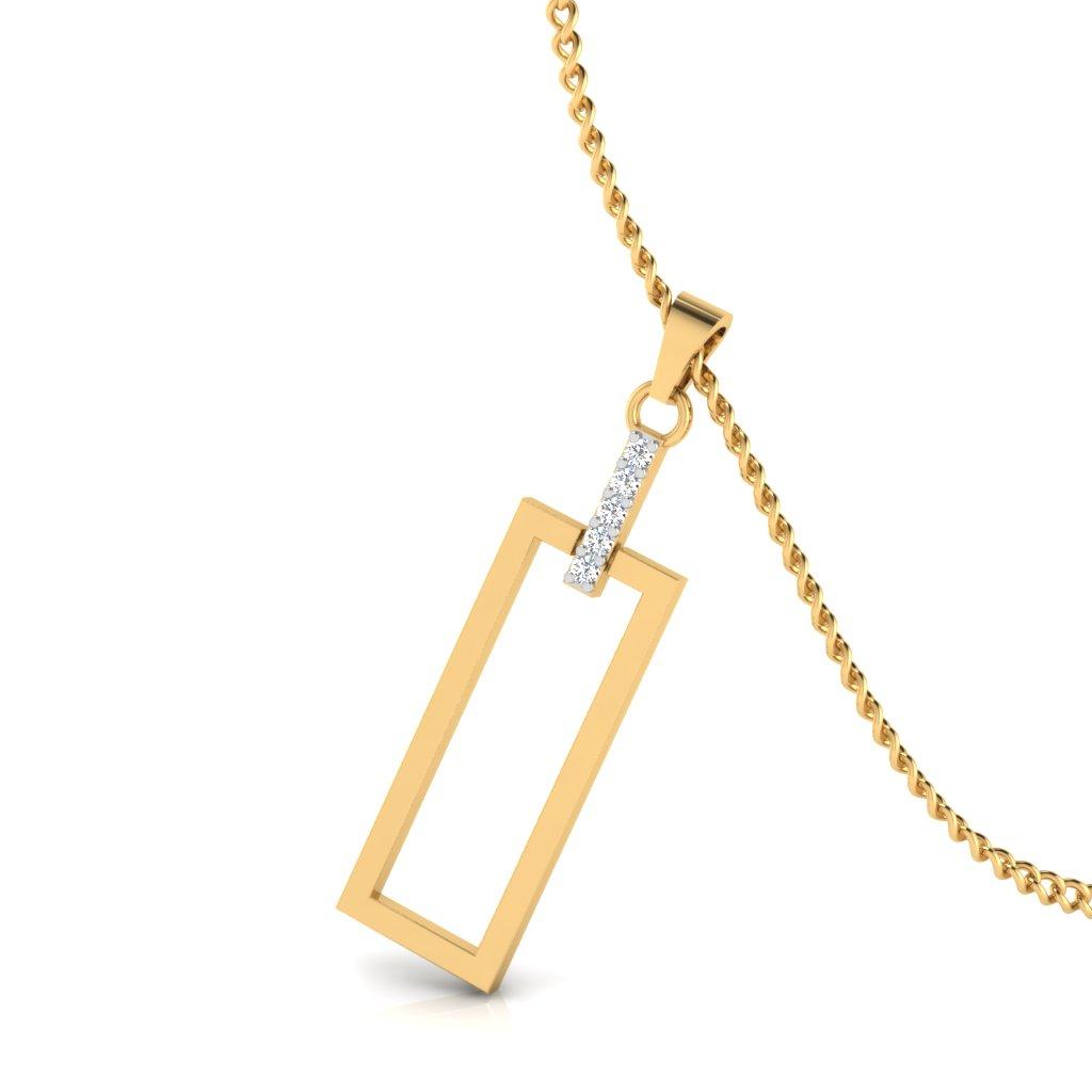 The Anniversary gift Diamond Pendant