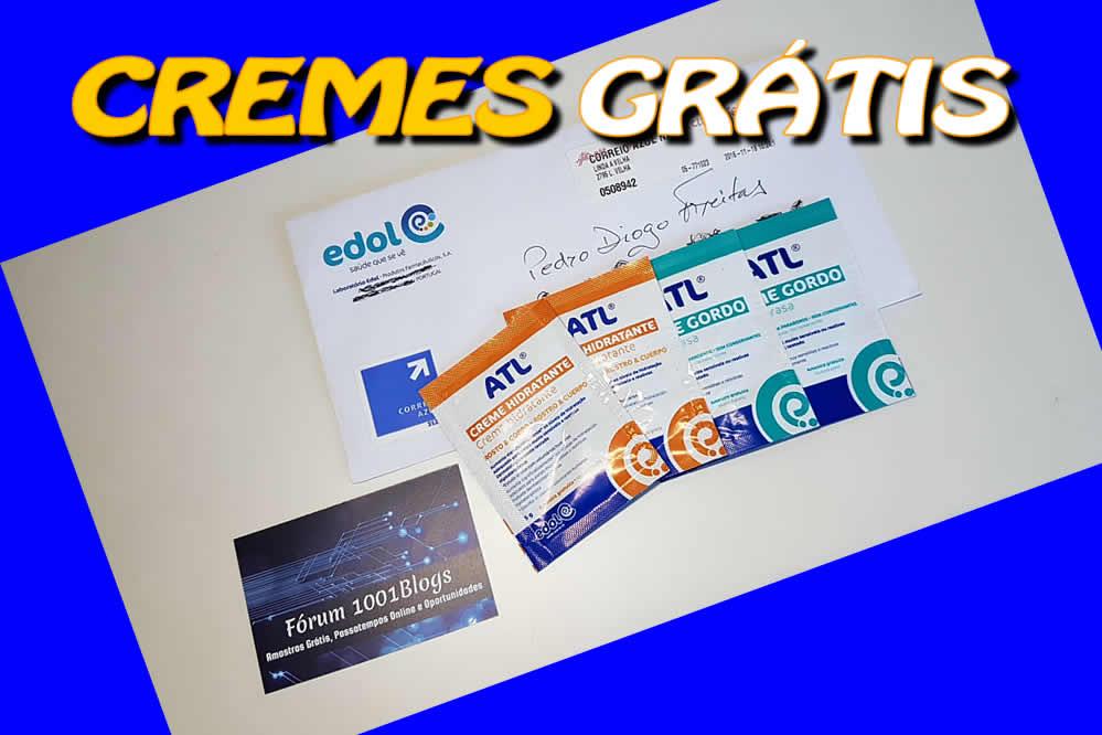 Amostras Edol - Cremes ATL [Recebido]  [Com video] Cremes%20f