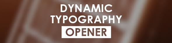 Rhythmic Modern Opener - 2