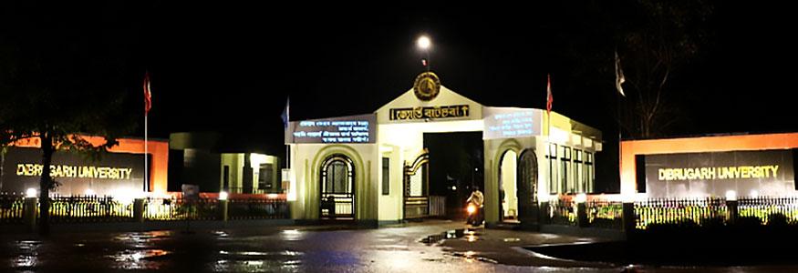 Dibrugarh University Department Of Petroleum Technology