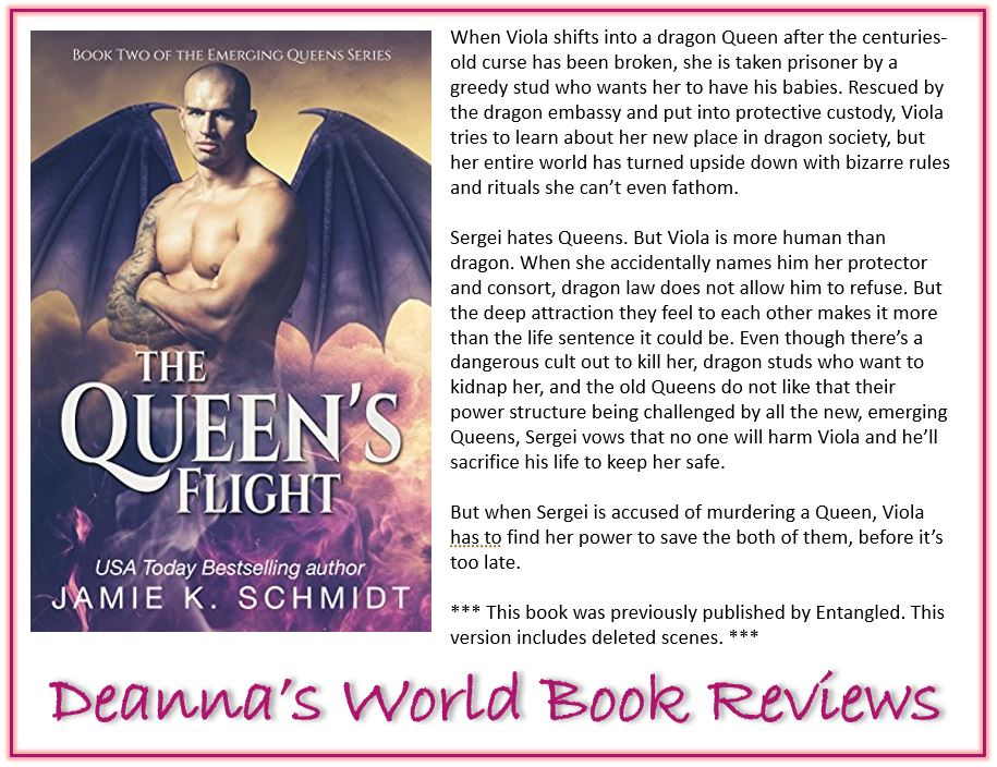 The Queen's Flight by Jamie K Schmidt blurb