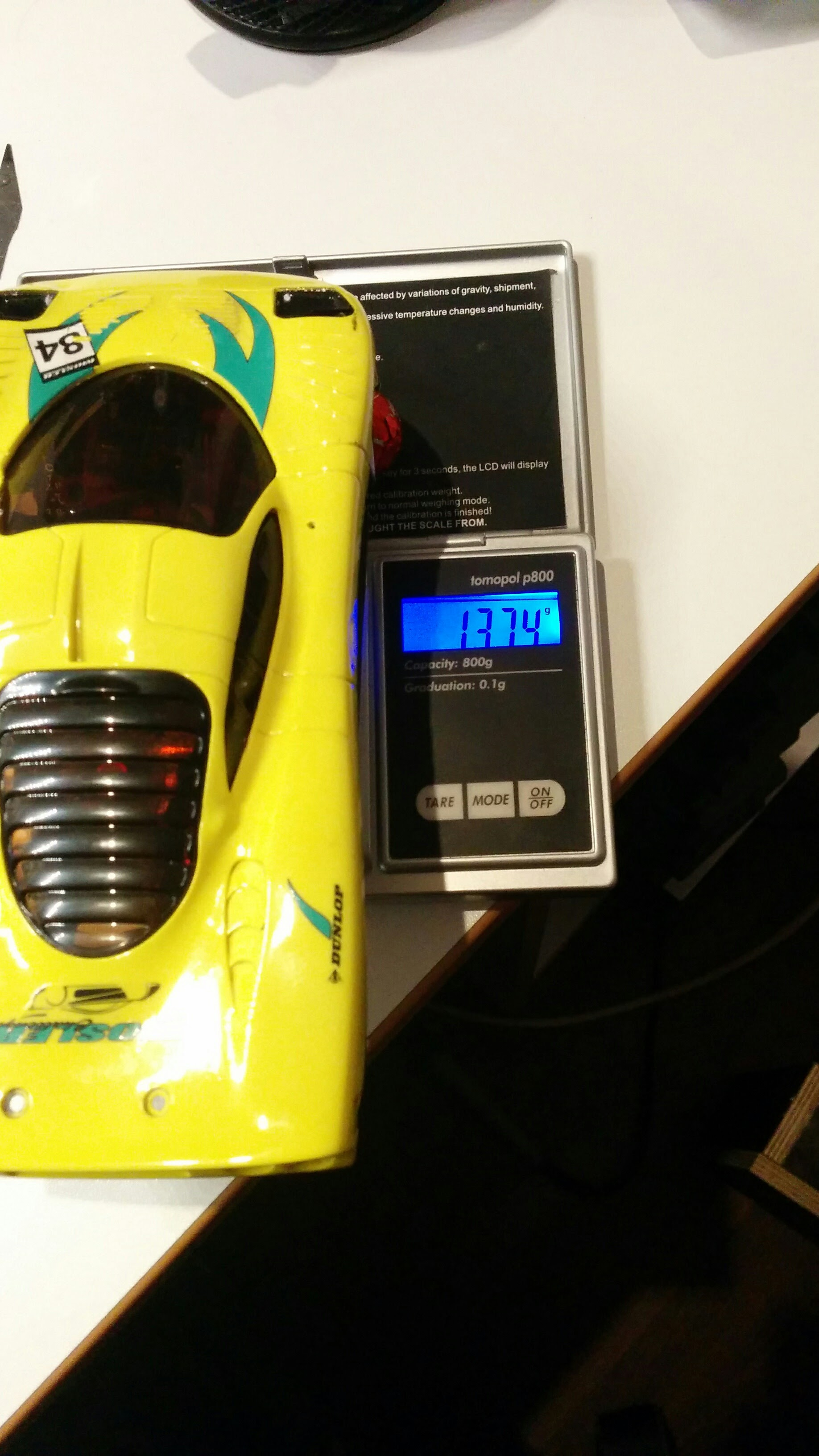 Wheel load scale for MiniZ IMG_20151231_212645