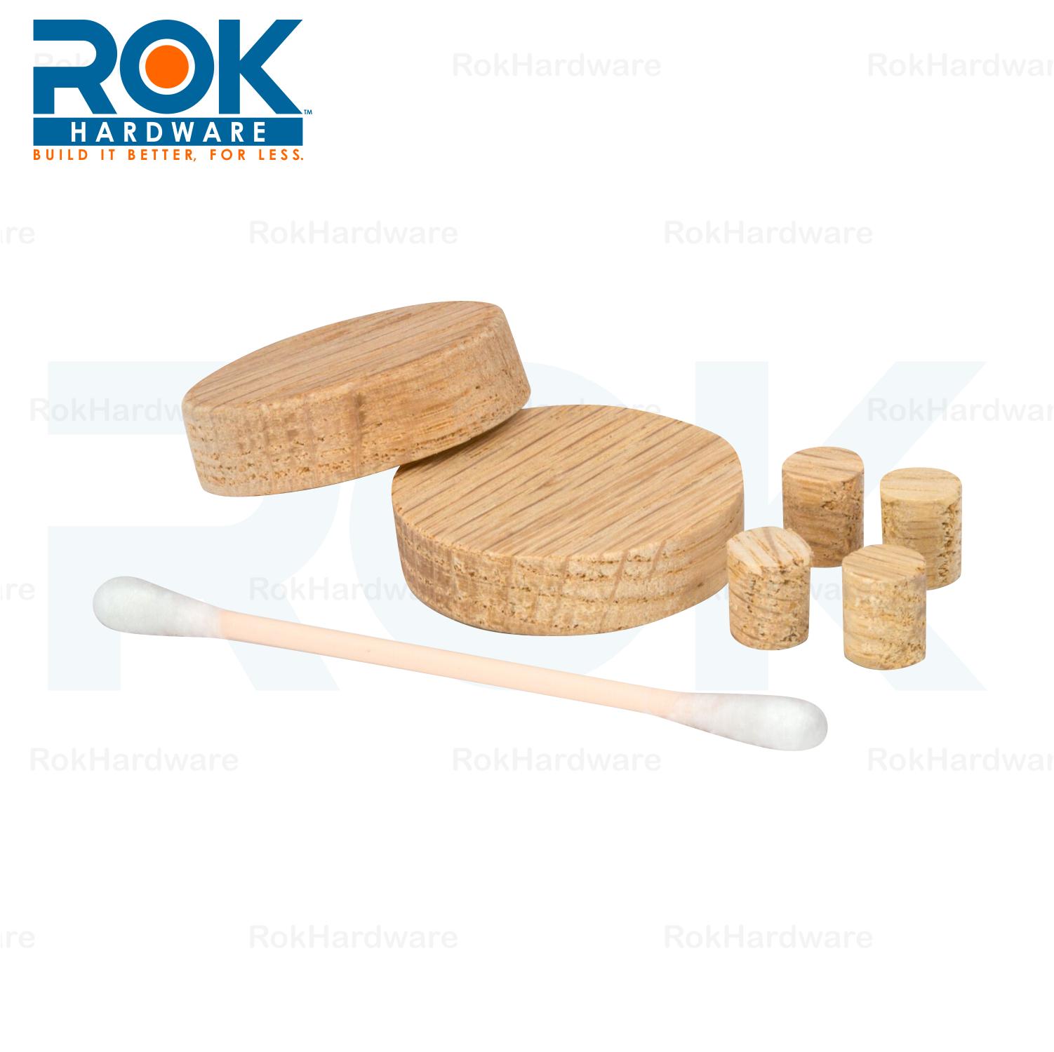 Rok Oak Cabinet Hinge Screw Hole Repair Kit for 35MM / 8MM ...