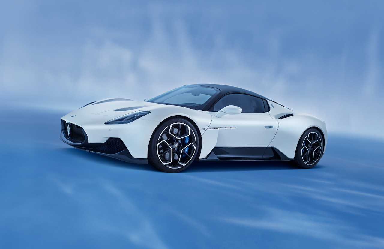 Maserati unveils successor to the MC12 - the new MC20