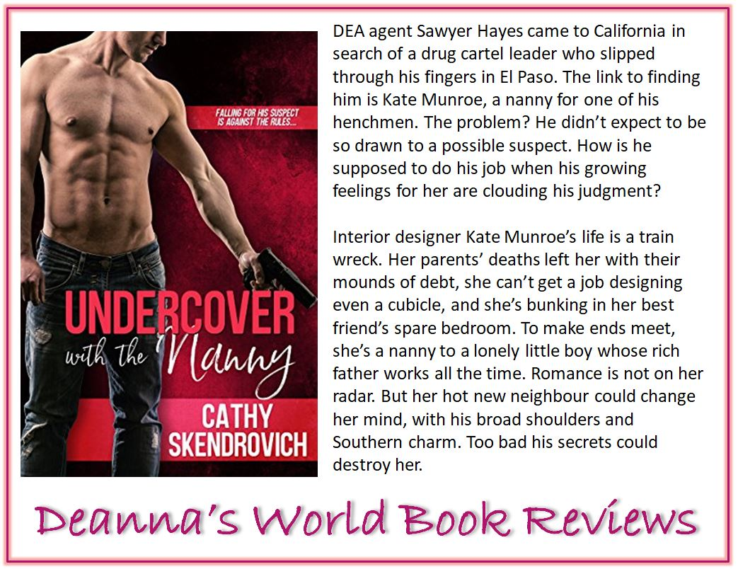 Undercover With The Nanny by Cathy Skendrovich blurb