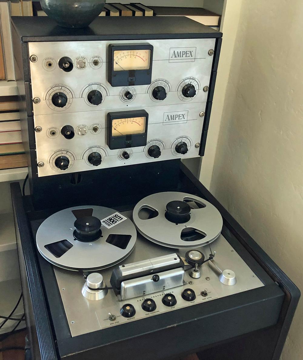 Ampex 351 two-track tape machine