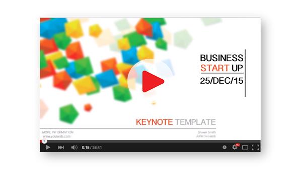Business Character Keynote Presentation - 1