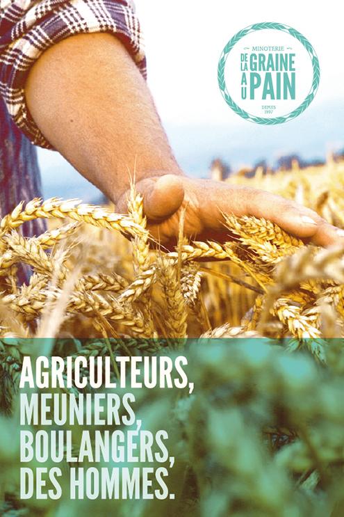 Affiche agriculteurs
