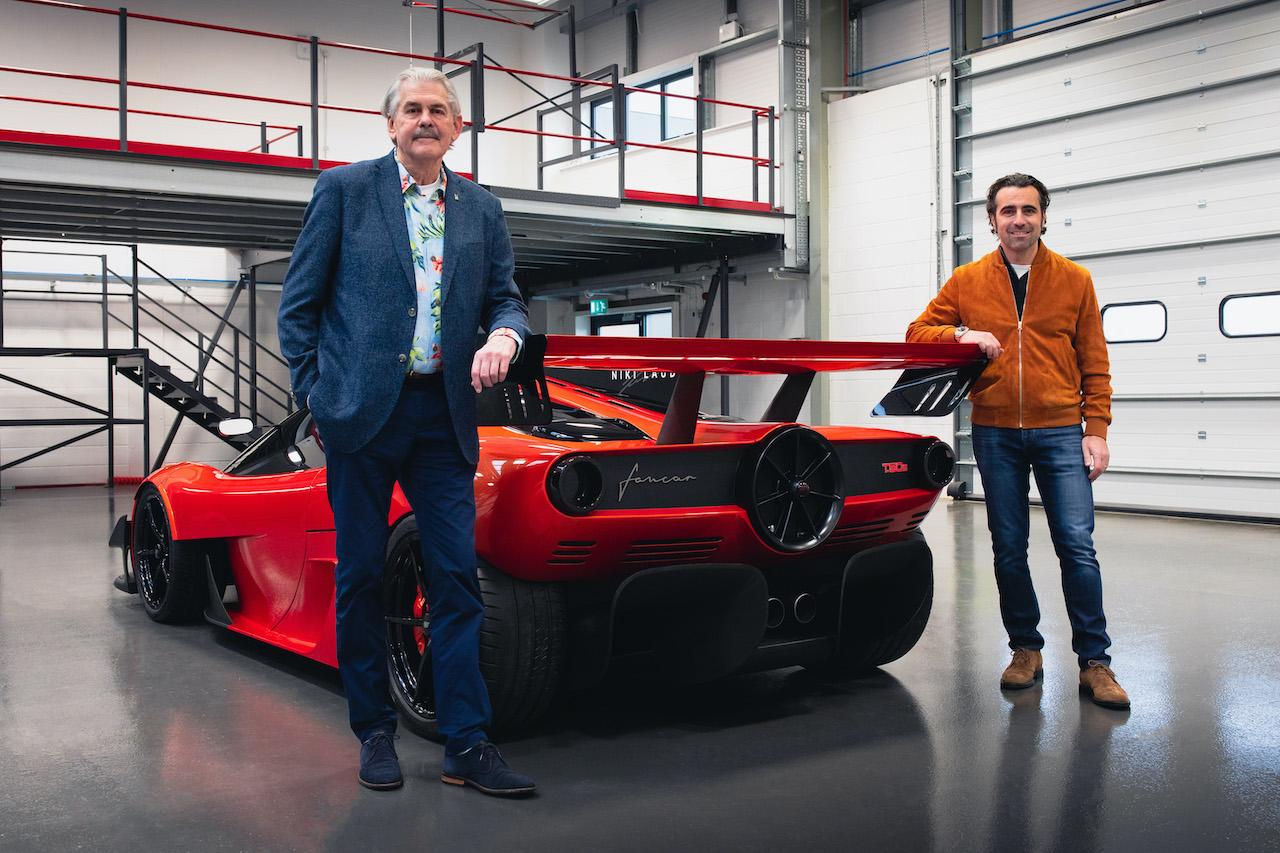 Gordon Murray Automotive reveals the new T.50s Niki Lauda