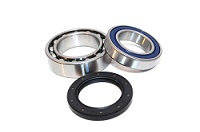 Rear Axle Wheel Bearings and Seal Kit Yamaha - 25-1011B - Boss Bearing