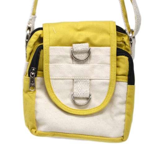 cotton travel bag - olive