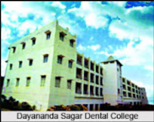 Dayananda Sagar College of Dental Sciences, Bengaluru Image