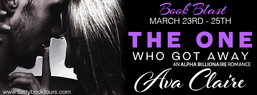 The One Who Got Away by Ava Claire banner