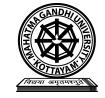 School of Tourism Studies, Mahatma Gandhi University, Kottayam